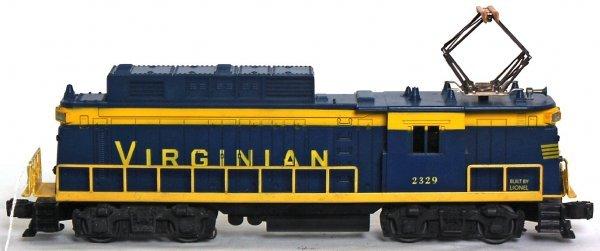 828: Lionel 2329 Virginian electric