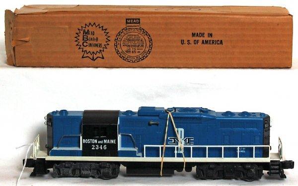 836: Lionel 2346 Boston and Maine GP, OB