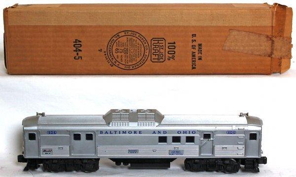 840: Lionel 404 Baltimore and Ohio BUDD RDC OB