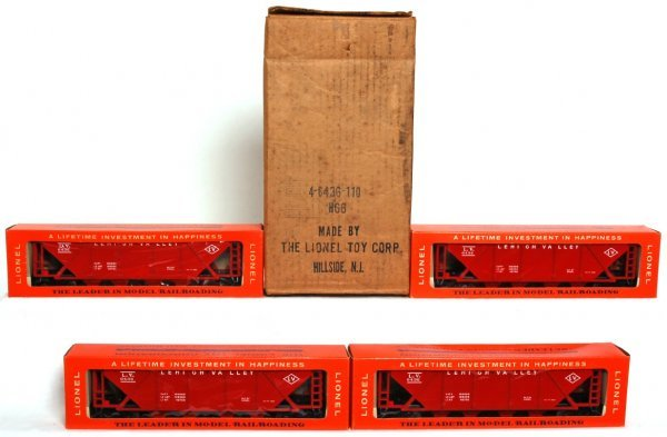 844: Mint Full Lionel master carton 4-6436-110 hoppers