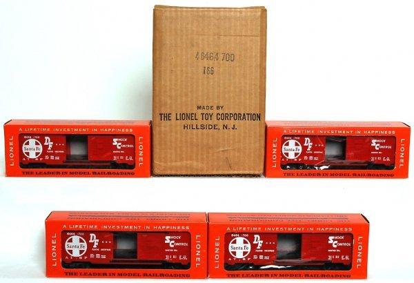 848: Full Lionel master carton 6464-700 SF boxcars