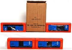 853: Full Lionel master carton 6464-475 BM boxcars