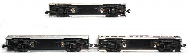 905: Lionel 2562, 2562, 2563 Santa Fe passenger cars - 3