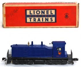 Lionel 621 Jersey Central Switcher, OB