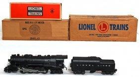 Lionel 736 Steam Berkshire, 2046W OB MC