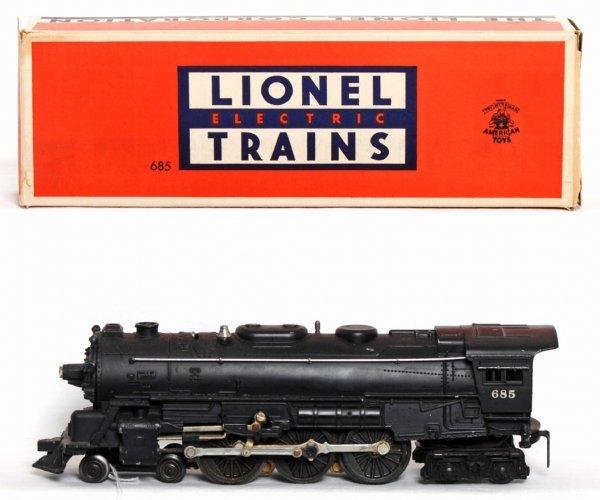 970: Lionel 685 4-6-4 loco in OB