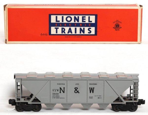 972: Unrun Lionel 6446 N&W cement car in OB