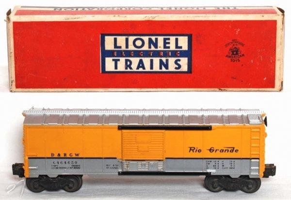 980: Lionel 6464-650 Rio Grande boxcar, OB