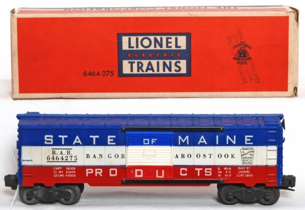 981: Lionel 6464-275 BAR State of Maine, OB