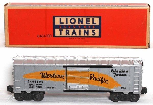 991: Unrun Lionel 6464-100 Western  Pacific OB