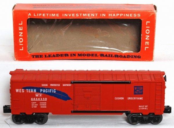 992: Unrun Lionel 6464-250 Western Pacific OB