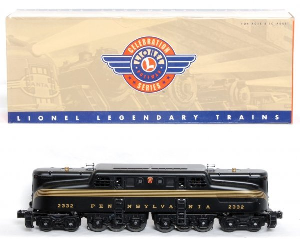 1: Lionel 18343 2332 Pennsylvania Black GG-1 in OB