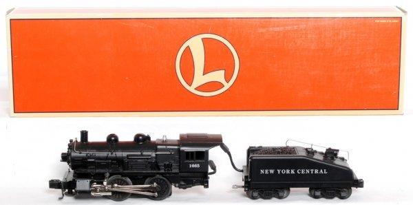 2: Lionel 18054 1665 New York Central 0-4-0 switcher