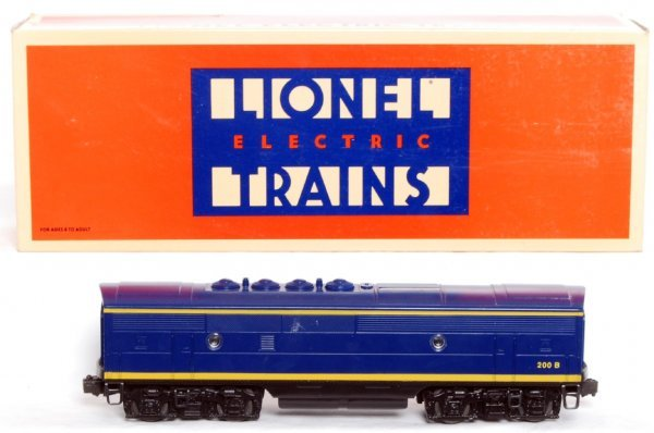 4: Lionel 18122 ATSF F3 B unit with RailSounds II