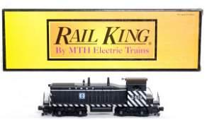 6: MTH Rail King 30-2156-1 Santa Fe NW-2 in OB