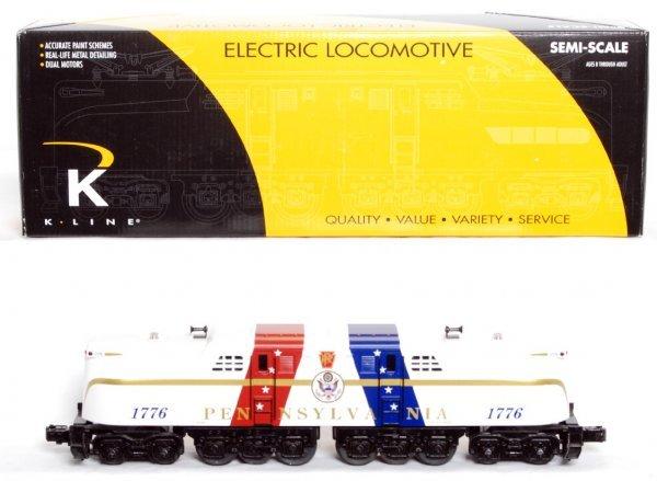 9: K-Line 2780-1776 PRR Patriotic GG-1 w/sound