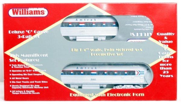 10: Williams BC 502 Amtrak Budd car power A w/horn