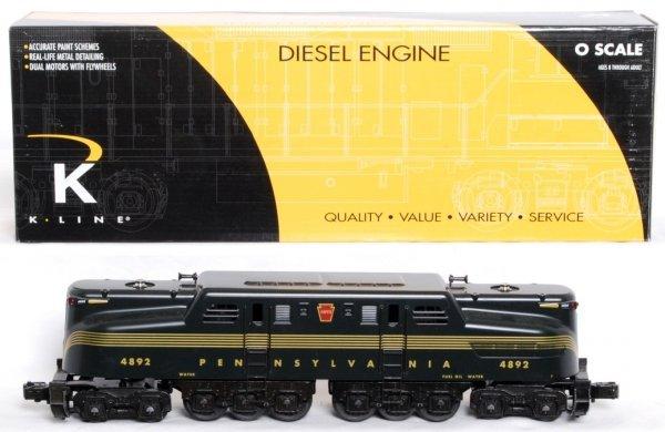 11: K-Line K2780-4892IC PRR GG-1 TMCC RailSounds