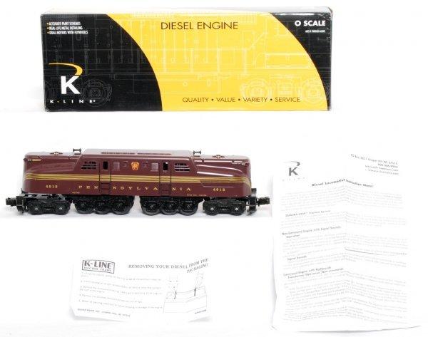 12: K-Line K2780-4912IC KCC PRR GG-1 in OB