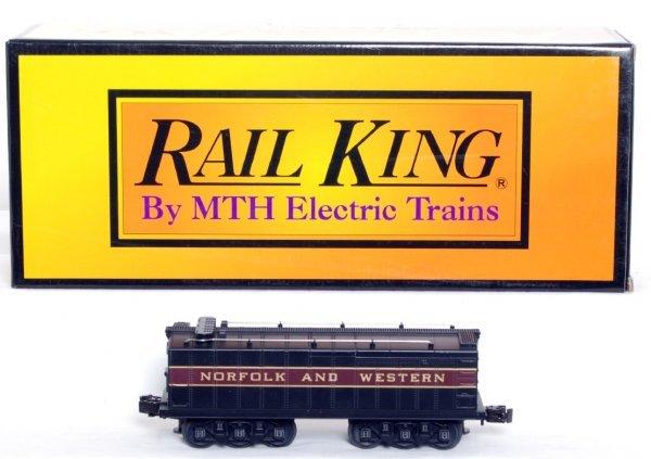 17: MTH Rail King 30-1117 N&W water tender in OB
