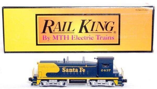 23: MTH Rail King 30-2223-0 Santa Fe SW-9 switcher