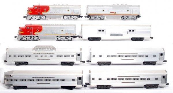 265: Lionel 2343P, 2343T, 2343C, five 2500 passenger