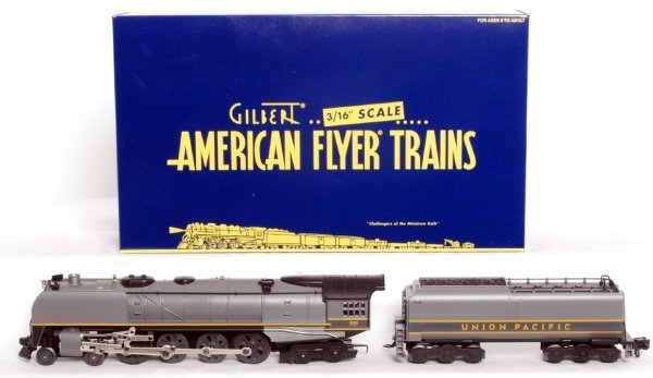801: American Flyer 48054 Union Pacific 4-8-4 in OB