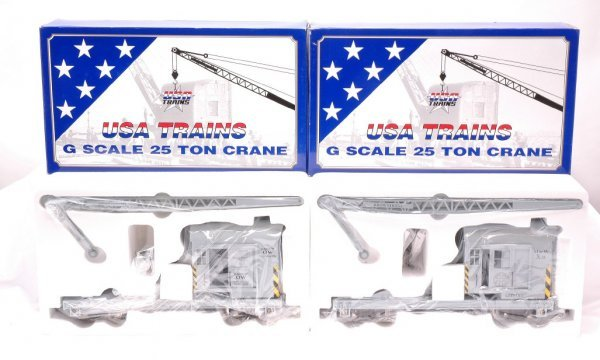 4: USA Trains G Scale R-1860 and R-1682 MINT OBs
