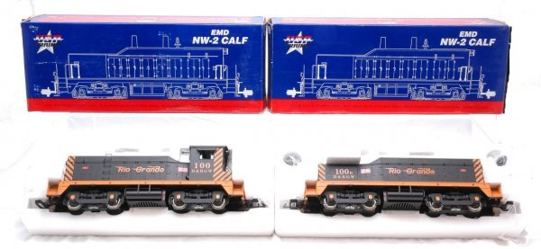5: USA Trains D&RGW NW-2 R-22001 R-22002 MINT OB