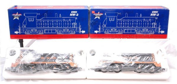 23: USA Trains D&RGW NW-2 R-22001 R-22002 MINT OB