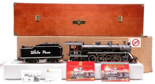 143: LGB 21832 WP & Y Loco #73 Sound Limited MINT OB