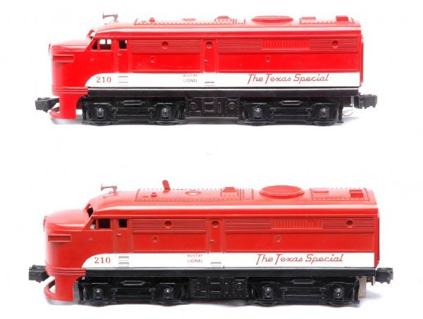 602: Lionel 210 Texas Special Alco Diesel AA Units