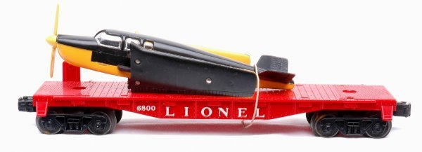 604: Lionel 6800 Flatcar with Airplane