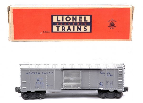 608: Lionel 6464-1 Western Pacific Boxcar Boxed