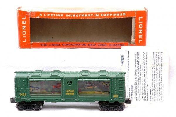 610: Lionel 3435 Aquarium Car Boxed