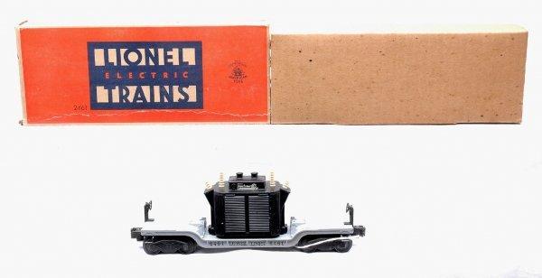 611: Lionel 2461 Transformer Car Boxed