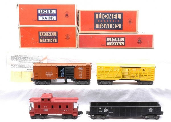 624: Lionel 3464  6462  6656  6257 Like New Boxed