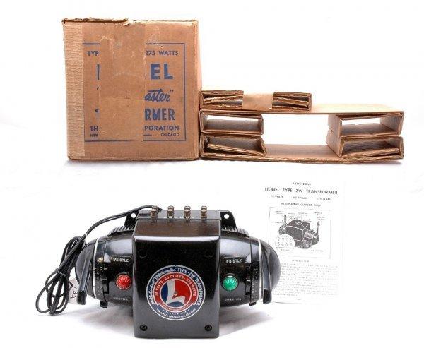 732: Lionel ZW 275-Watt Transformer Like New Boxed