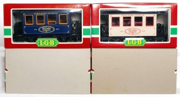 13: Four LGB Jahreswagens, 1982, 1983, 1984, 1985