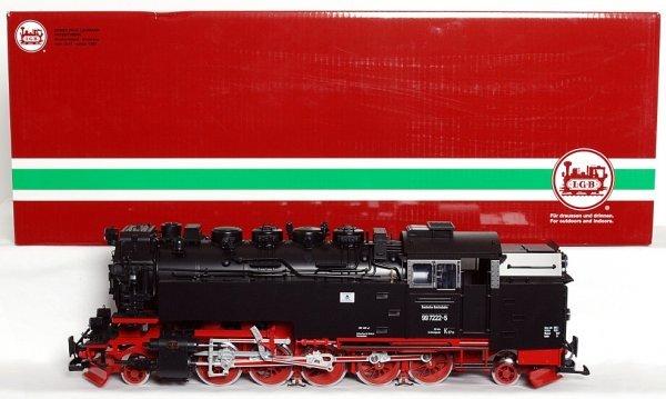 110: LGB G scale 21812 DR loco 99 7222-5 w/sound