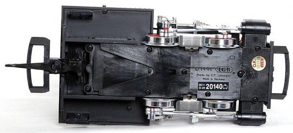 122: LGB G scale 20140 0-4-0 Orenstein & Koppel loco - 3