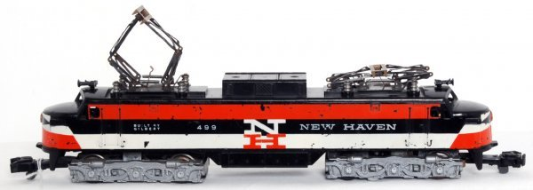 1: American Flyer S gauge 499 New Haven electric