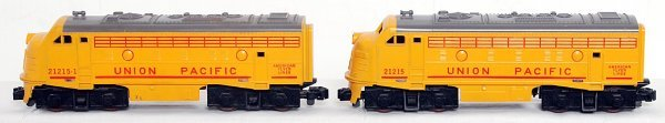 9: American Flyer S gauge 21215 and 21215-1 UP