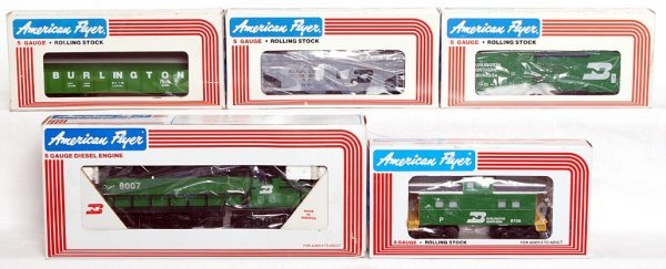 15: American Flyer 48007, 48605, 48304, 9300, 49706