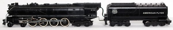 16: American Flyer K335 4-8-4 loco and tender