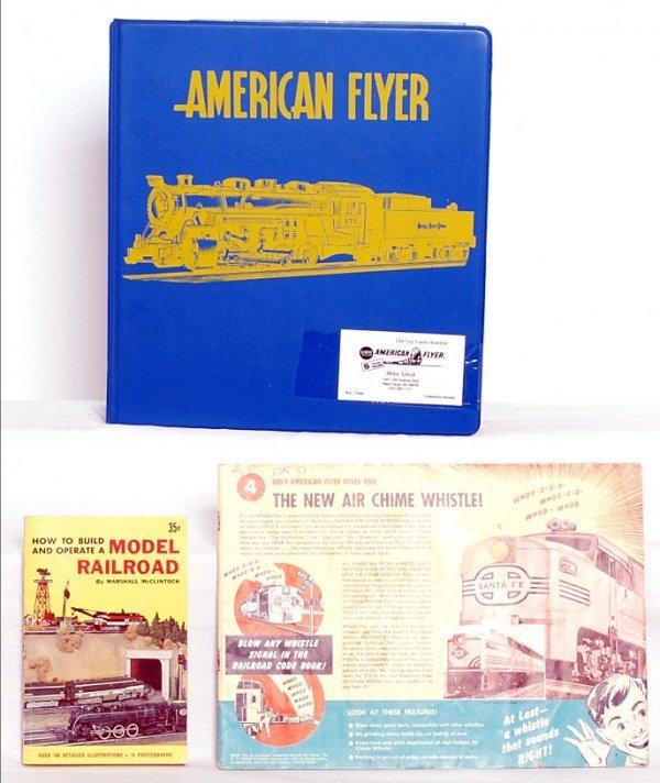 17: American Flyer S gauge catalogs