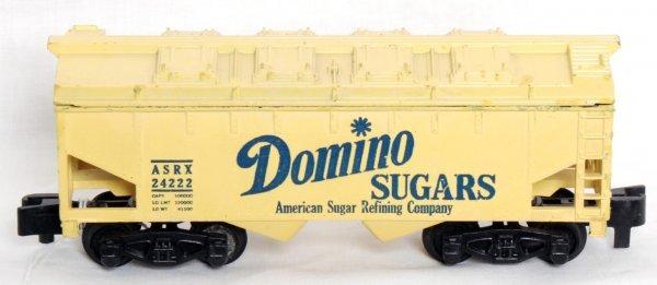 19: American Flyer 24222 Domino Sugars covered hopper