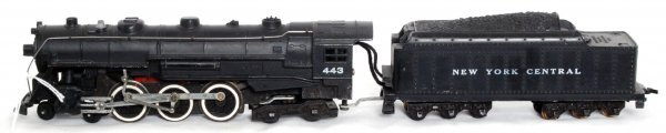 21: American Flyer 443 HO scale Hudson and tender