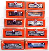 150 Ten Lionel freight cars in original boxes