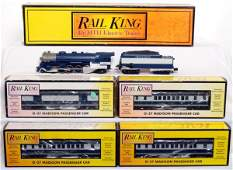 271 MTH Rail King Texas and Pacific L3 passenger set
